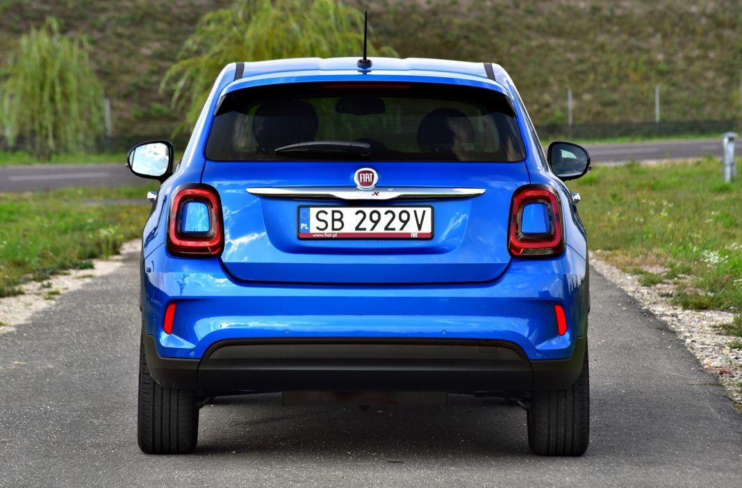 Fiat 500X FL - tył