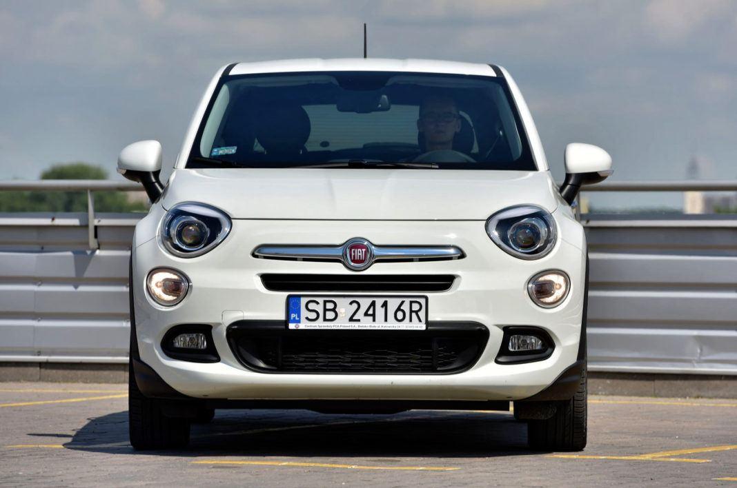 Fiat 500X - przód przed faceliftingiem