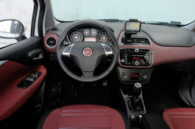 Fiat Punto III - deska rozdzielcza