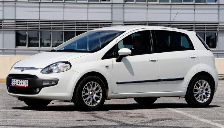 Fiat Punto III - przód