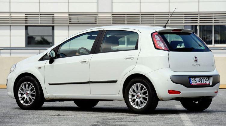 Fiat Punto III - tył