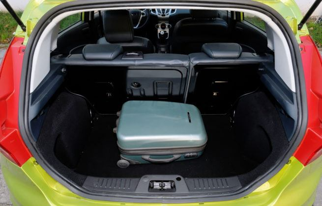 Ford Fiesta VII - bagażnik
