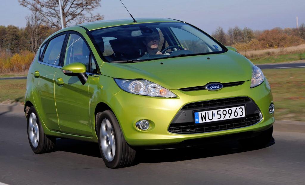 Ford Fiesta VII - dynamiczne
