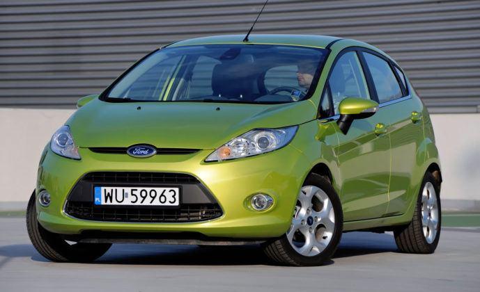 Ford Fiesta VII - przód