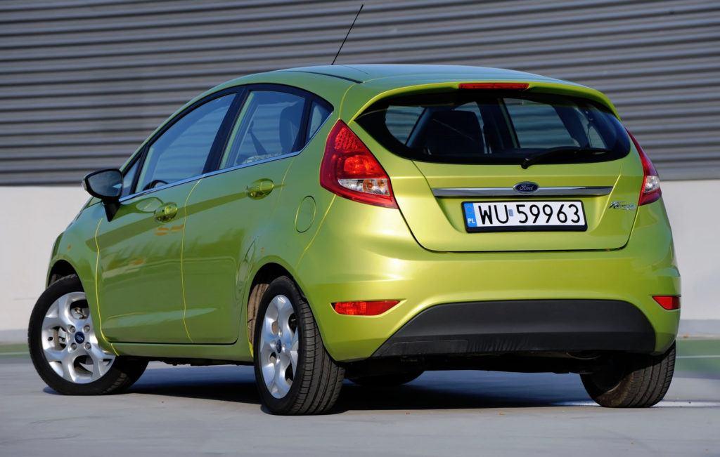 Ford Fiesta Vii Tyl