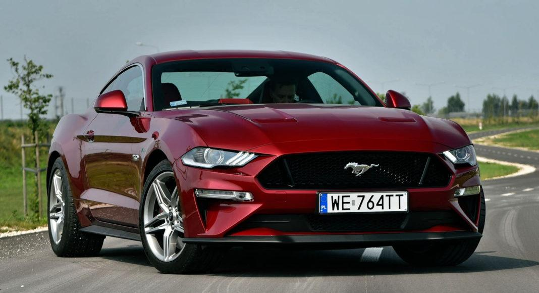 Ford Mustang GT FL - przód