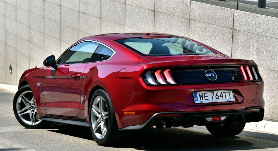 Ford Mustang GT FL - tył