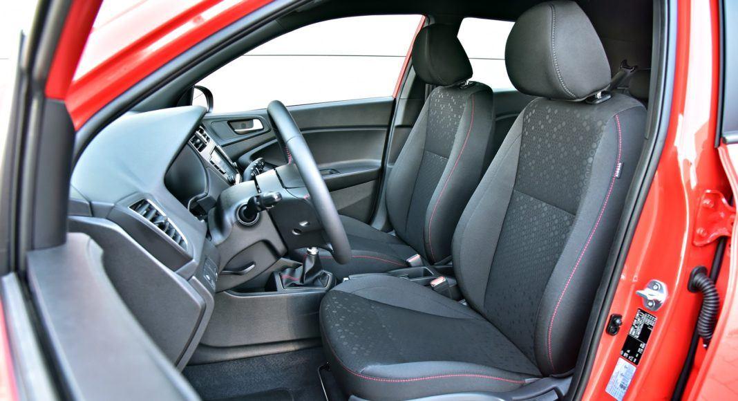 Hyundai i20 - fotel kierowcy