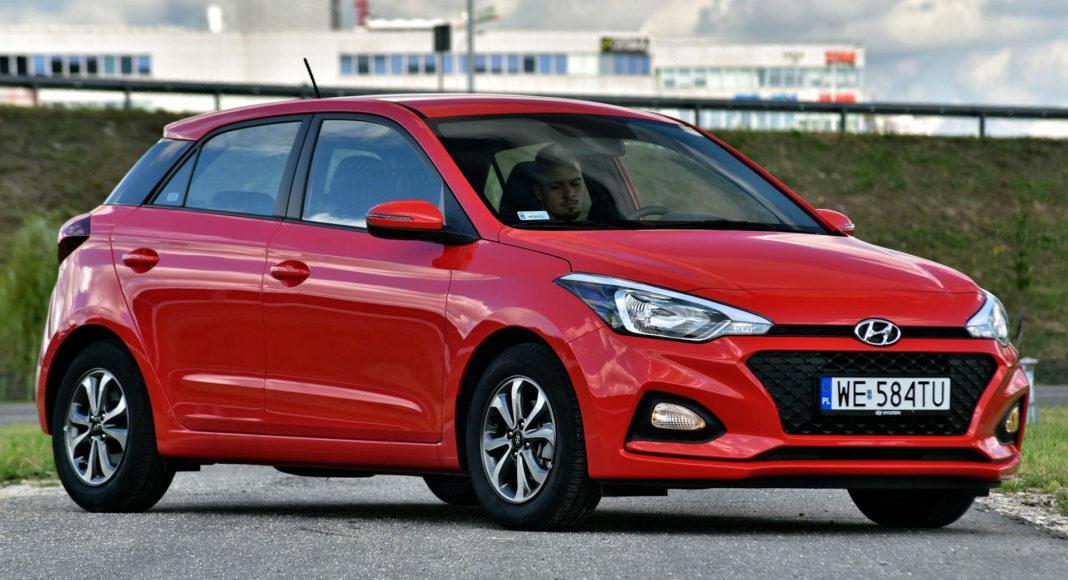 Hyundai i20 - przód
