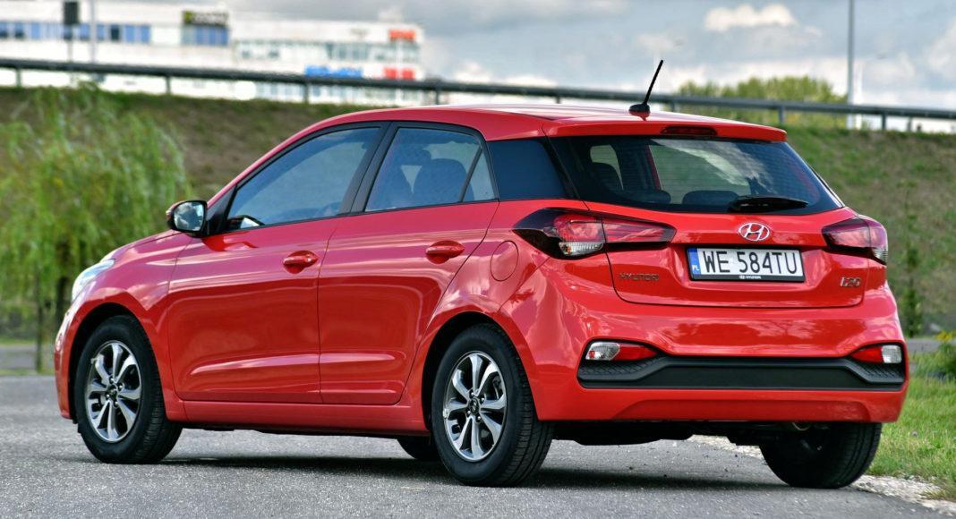 Hyundai i20 - tył