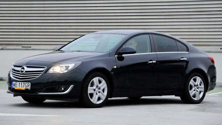 Klasa średnia - Opel Insignia