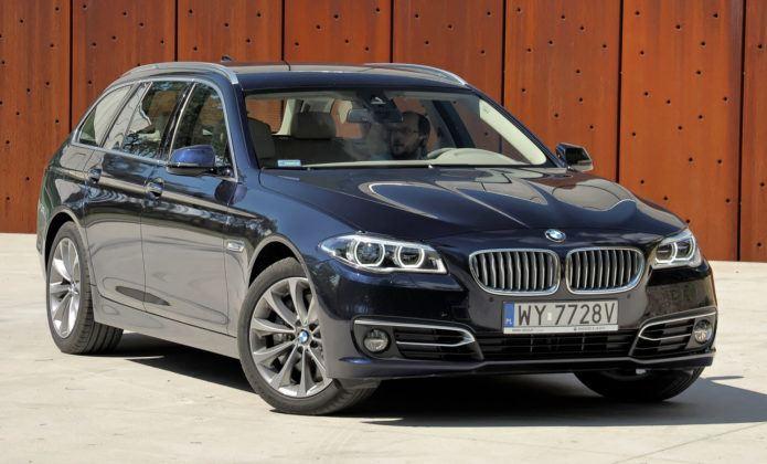 Klasa wyższa - BMW serii 5