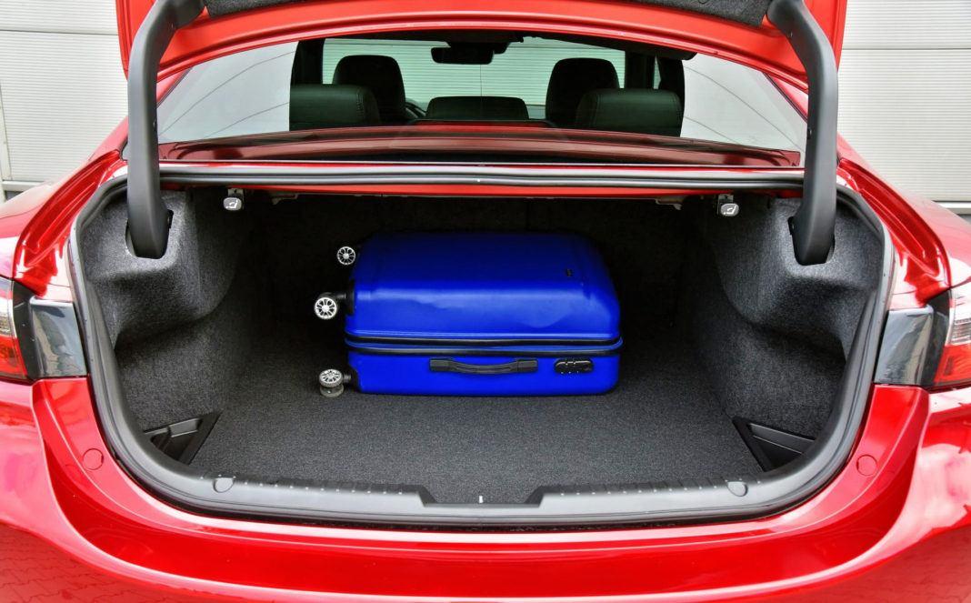 Mazda 6 FL - bagażnik