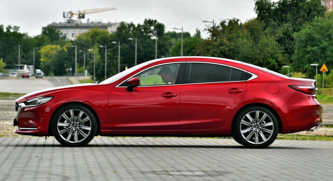 Mazda 6 FL - bok