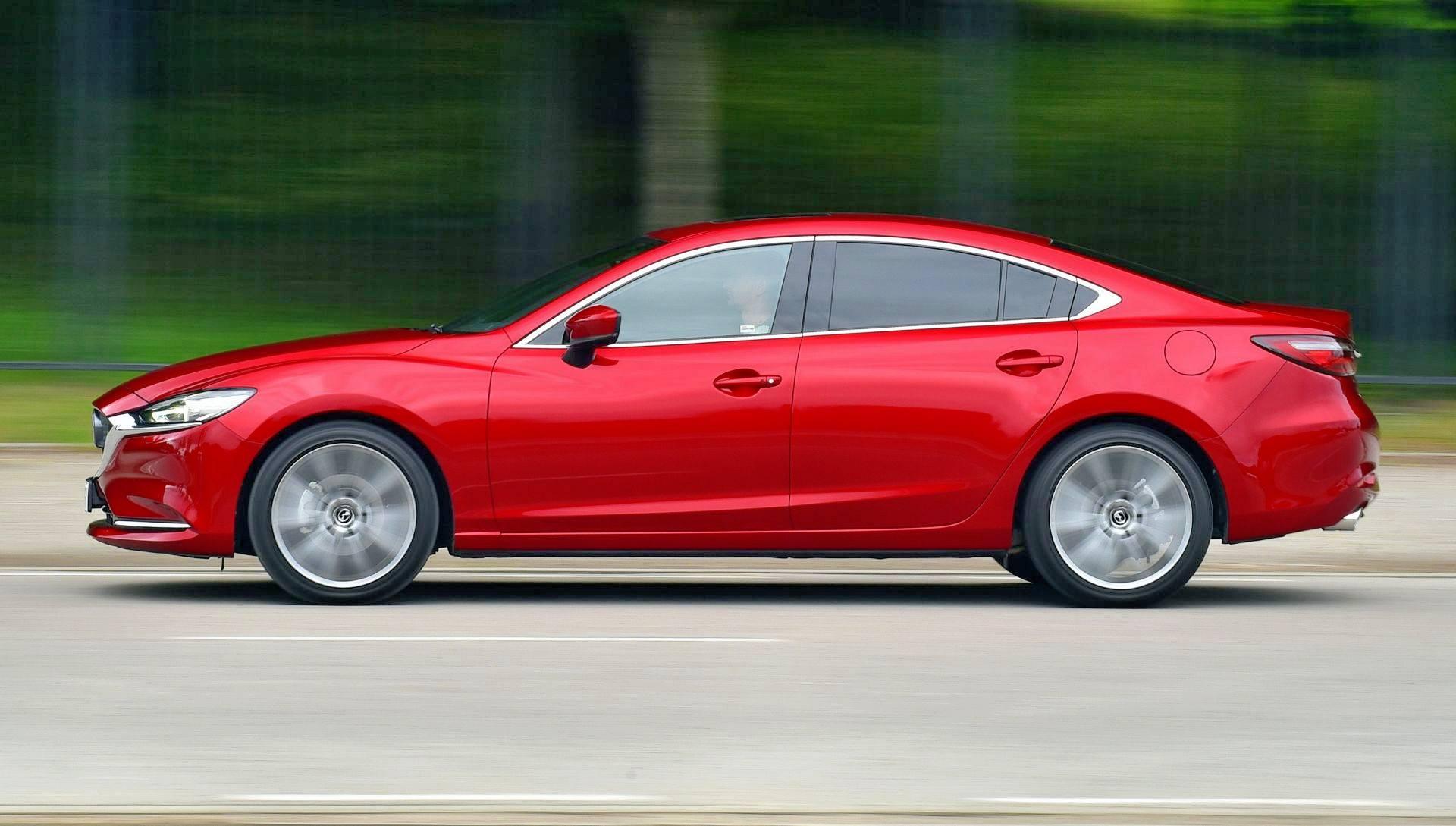 Mazda 6 FL - dynamiczne