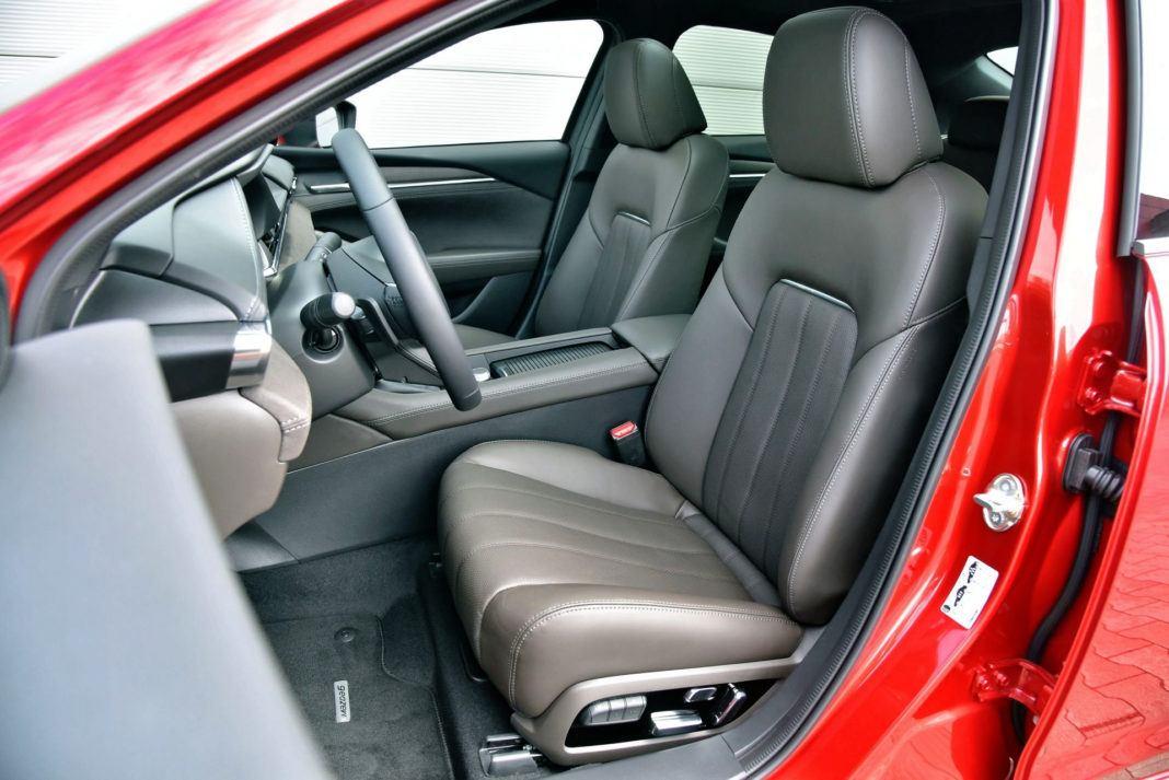 Mazda 6 FL - fotel kierowcy