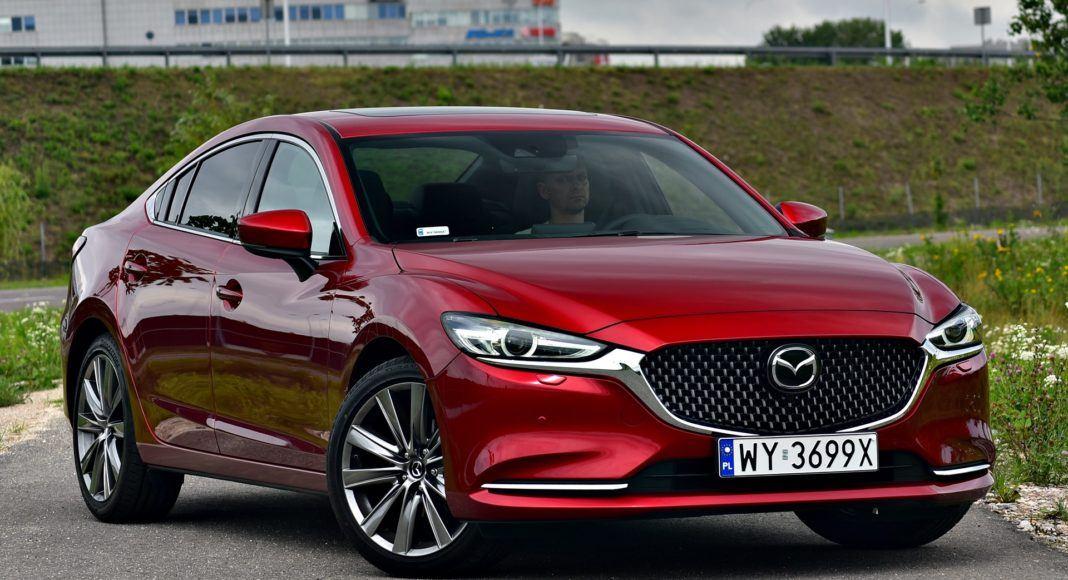 Mazda 6 FL - przód