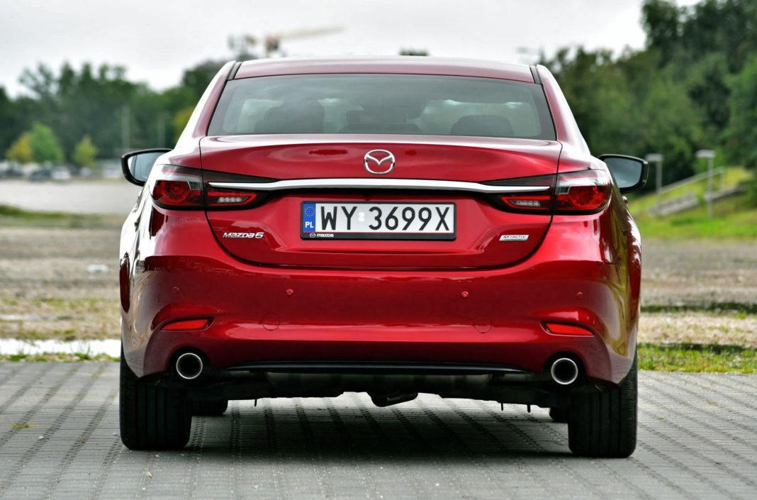 Mazda 6 FL - tył