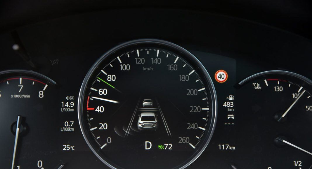 Mazda 6 FL - zegary