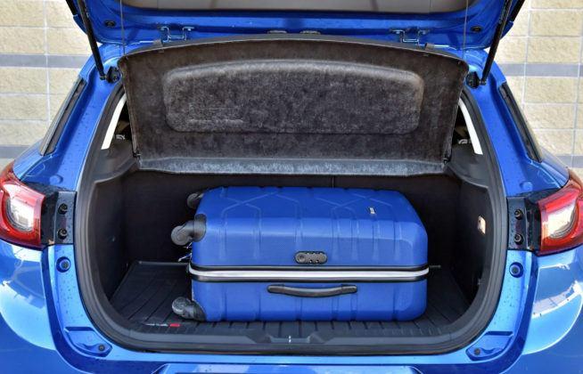 Mazda CX-3 - bagażnik