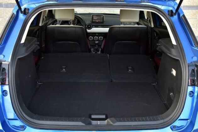 Mazda CX-3 bagażnik (2)