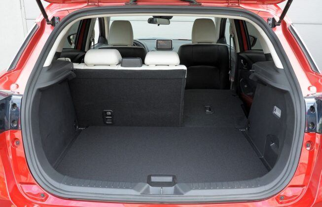 Mazda CX-3 bagażnik (4)