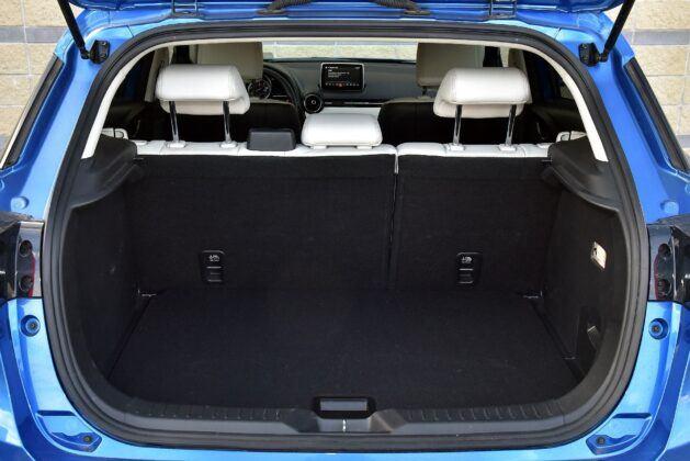 Mazda CX-3 bagażnik
