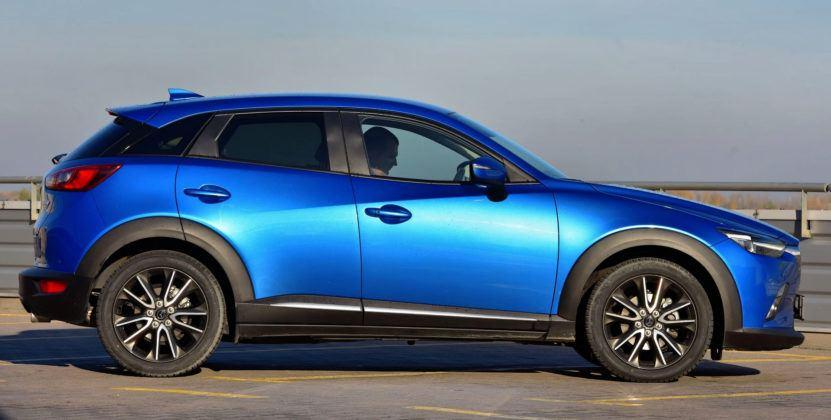 Mazda CX-3 - bok