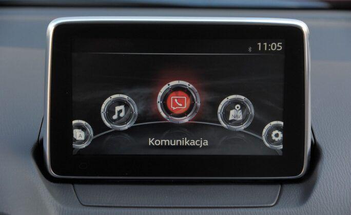 Mazda CX-3 ekran