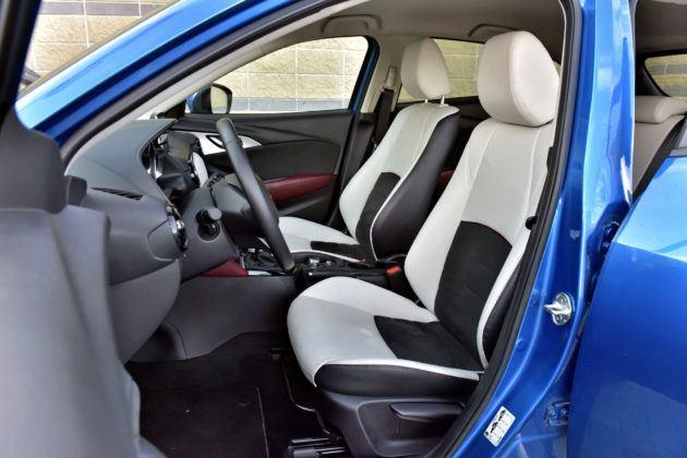 Mazda CX-3 - fotel kierowcy