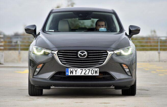 Mazda CX-3 przed liftingiem