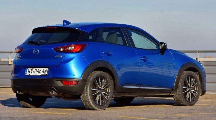 Mazda CX-3 - tył