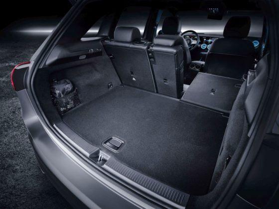 Nowy Mercedes Klasy B - bagażnik