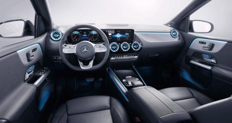 Nowy Mercedes Klasy B - deska rozdzielcza
