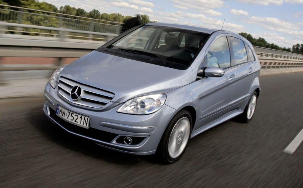 Mercedes Klasy B - dynamiczne