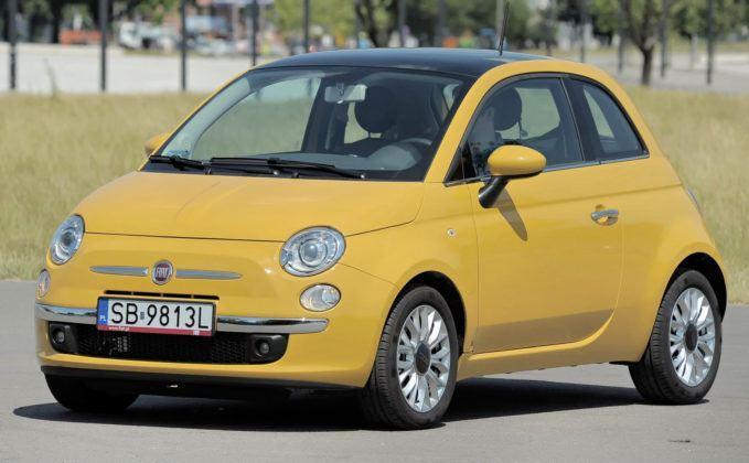 Miejskie - Fiat 500