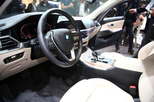 Nowe BMW 3 wnętrze