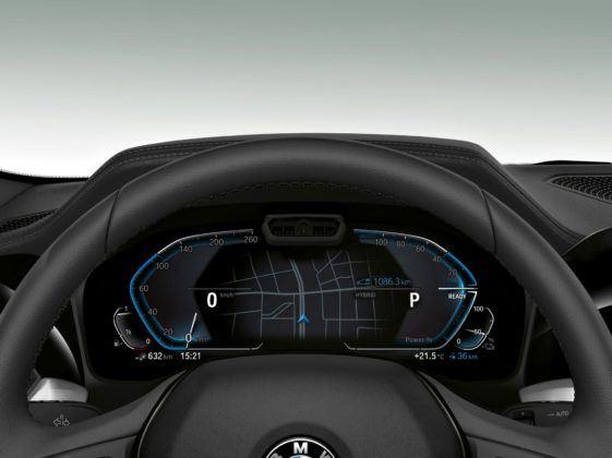Nowe BMW serii 3 - wirtualne wskaźniki