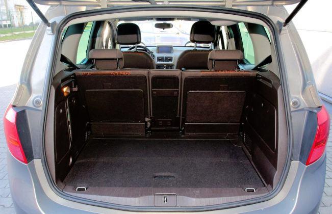 Opel Meriva B - bagażnik