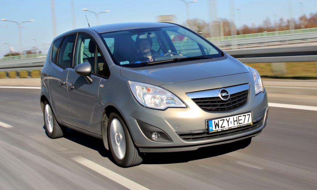 Opel Meriva B - dynamiczne