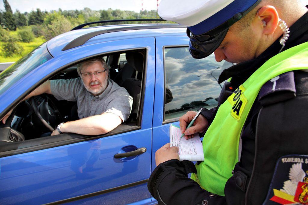 Oszukanie policjanta - otwierające