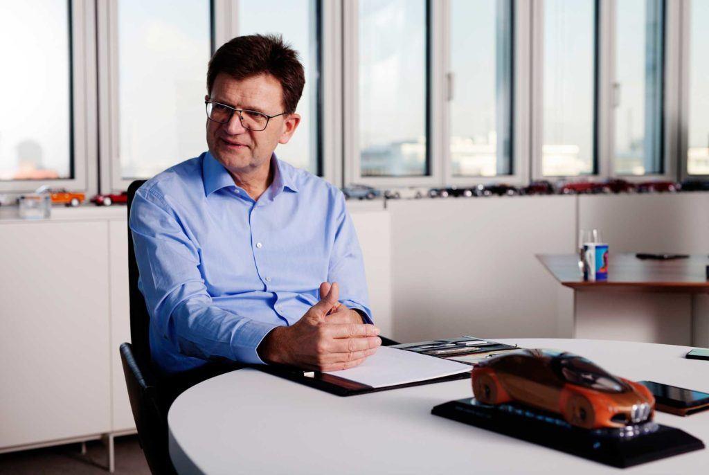 Klaus Fröhlich, członek zarządu i szef rozwoju BMW