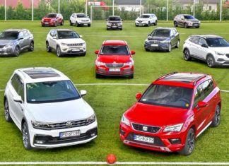 Kompaktowe SUV-y - porównanie 12 popularnych modeli