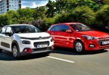 Porównanie Citroen C3 Hyundai i20 - otwierające