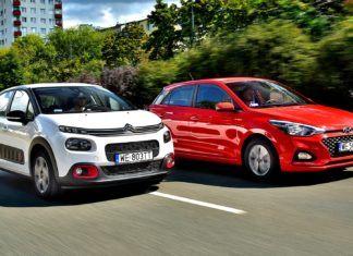 Citroen C3 1.2 PureTech, Hyundai i20 1.2 MPI - porównanie miejskich aut