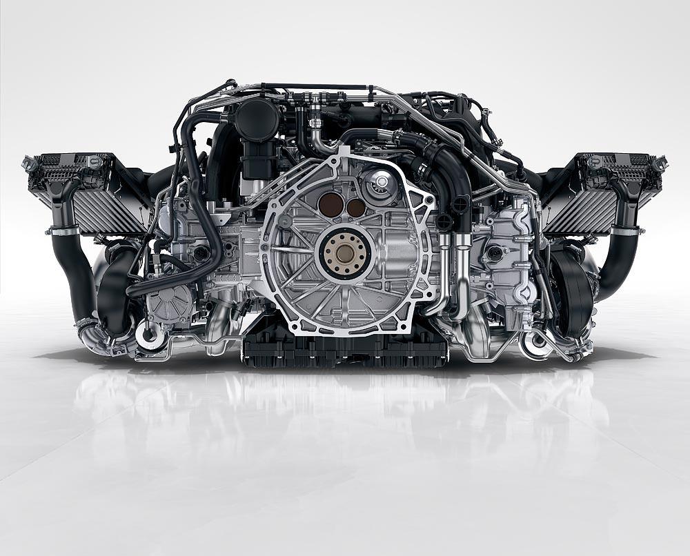 Silnik Porsche 911