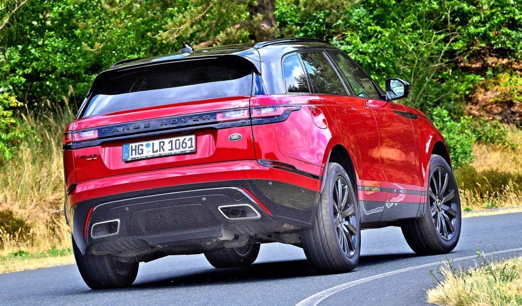 Range Rover Velar - zakret