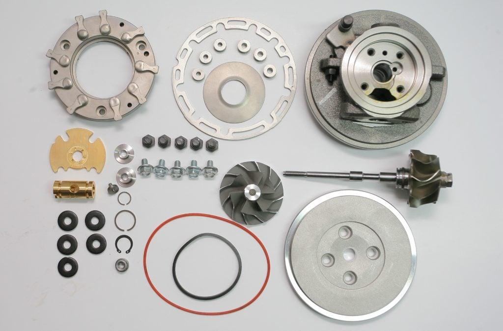 Regeneracja uszkodzonej turbosprężarki