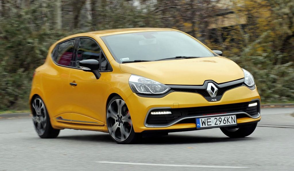 Renault Clio IV RS - dynamiczne