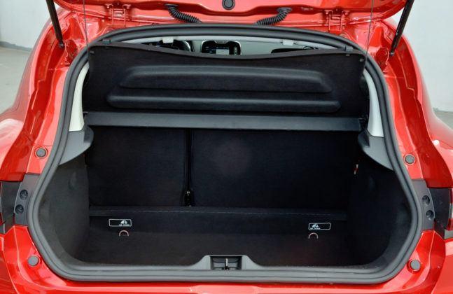 Renault Clio IV - bagażnik
